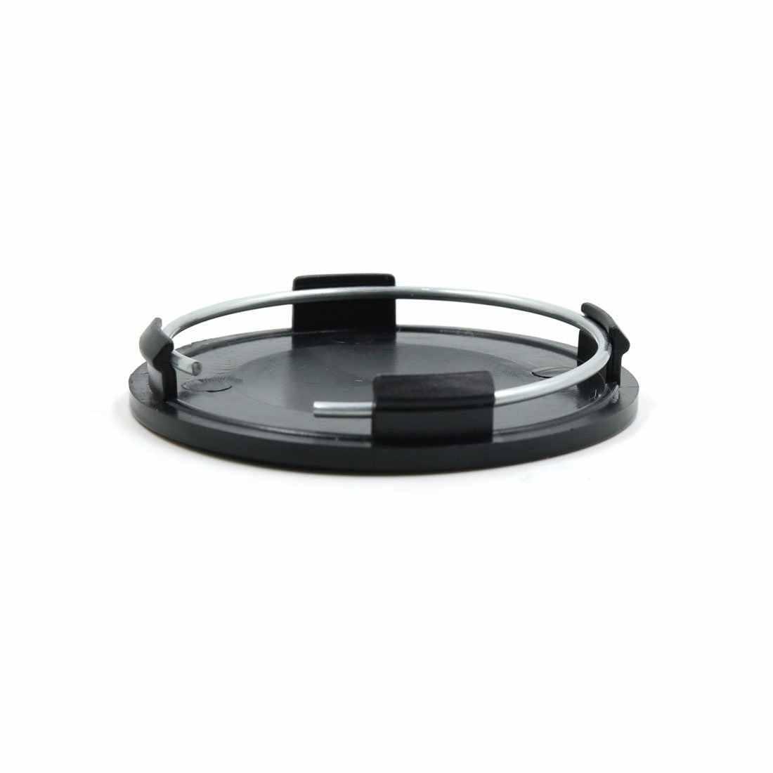 4 قطعة أسود 63 مللي متر قطر عجلة غطاء عجلة مركزي غطاء حماية للسيارات السيارات العالمي محور عجلات غطاء السفينة حرة