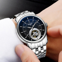 2018 Mens Watches Top Brand Luxury Automatic Mechanical Watch Men Full Steel Business Waterproof Sport Watches