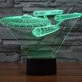 3D Star Wars Trooper Yoda R2-D2 Robô Noite Quarto LED Desk Mesa de Luz Da Lâmpada