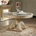 Muebles de salón Mesa de Diseño Cuadrado De Madera Moderna De Madera Mesa de La Esquina de madera maciza artesanal mesa de comedor realeza