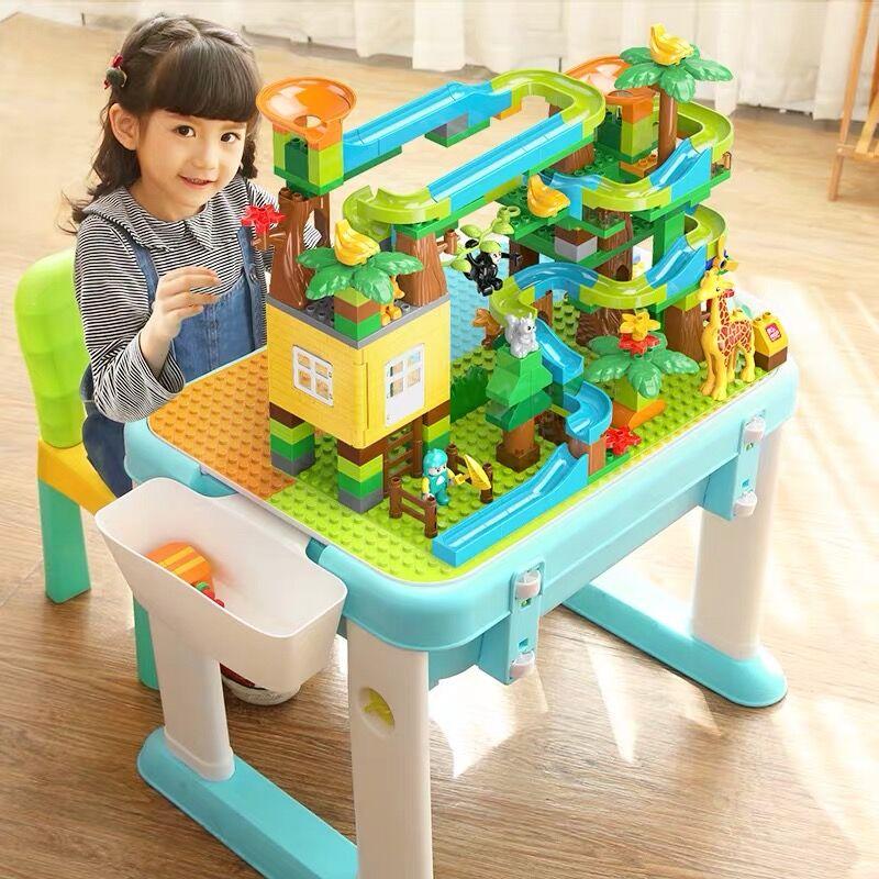 Juego de construcción con bloques Castillo de juguete educativo para niños 89
