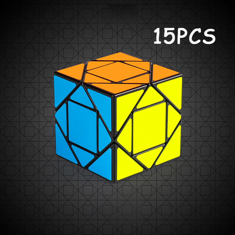 15 pièces noir haute qualité MoYu Pandora Cube magique cube vitesse torsion Puzzle Cubo magico jouet éducatif pour les enfants