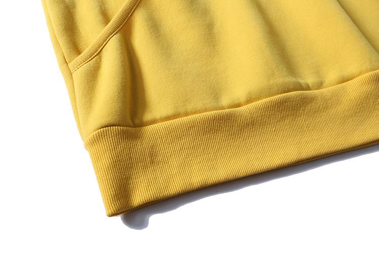 Aolamegs Hoodies Men Side Striped Hood High Street Pullover Cotton Fashion Hip Hop Streetwear Casual Big Pocket Hoodie Autumn (44)