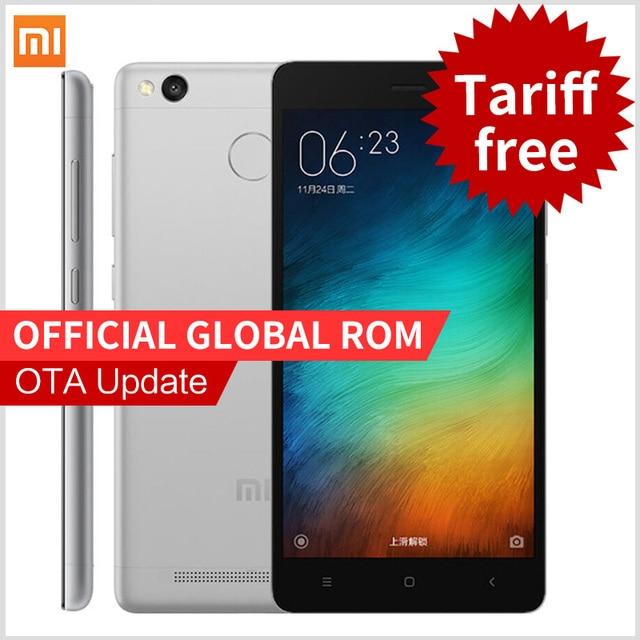 Xiaomi Redmi 3S  Pro Prime Redmi3s 4G FDD smartphone 5.0Inch Snapdragon 430 Fingerprint ID phones