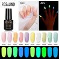 Неоновые гибридные Лаки ROSALIND, Гель-лак для ногтей, Светящийся лак для дизайна ногтей, базовый гель для маникюра, Полупостоянный Гель-лак для ...
