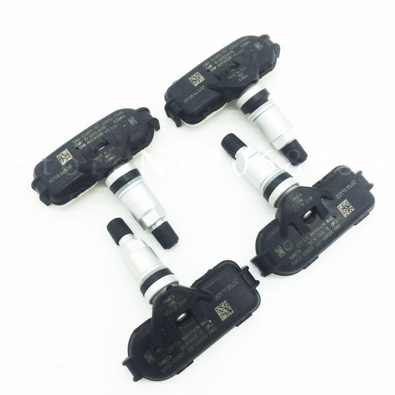 4PCS Original 52933 2S410 529332S410 433MHz Original font b TPMS b font Sensor For Hyundai IX35