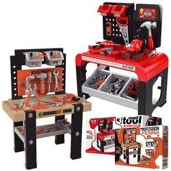 Детский набор инструментов, игрушки, большой набор инструментов для ремонта, пластиковый набор для ролевых игр, детский набор инструментов,...