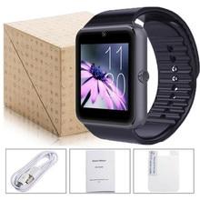 2016 heißer Smartwatch GT08 Uhr Sync Notifier Kamera-unterstützung Sim-karte Bluetooth Touchscreen Für IOS Android Phone