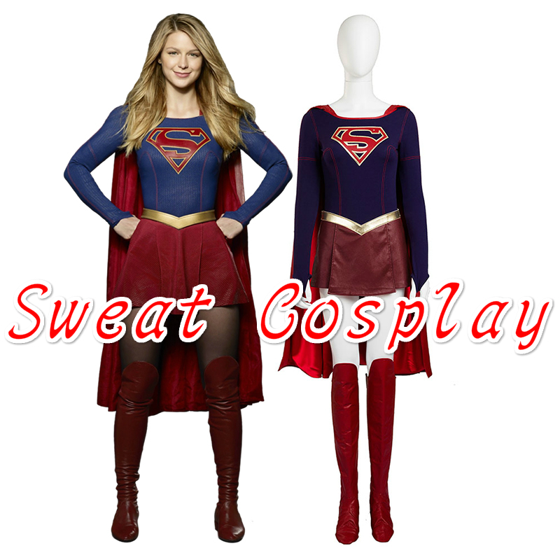 Supply Cbs Supergirl Cosplay Costume Kara Zor-el Danvers Costume Costumes & Accessories Cape Halloween Carnival Cosplay Costumes