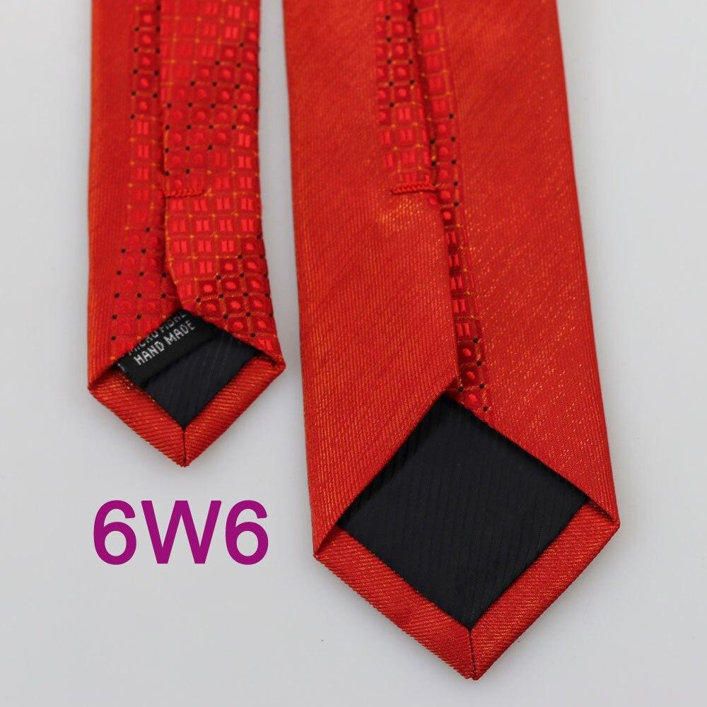 YIBEI Coachella Галстуки красные галстуки тонкая кайма Диагональная полоса черный горошек пледы Gravata Masculino фирменный мужской галстук блестящий