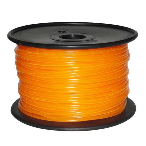 1KG 3D-Printer filament PLA 3.00mm For CTC,Reprap, K8200, Unimaker Size:PLA 3.00mm Color:Orange