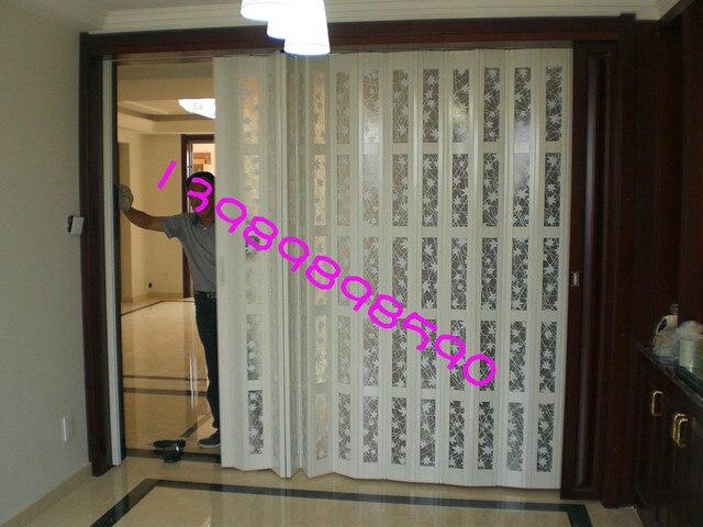 Folding Door Kitchen Partition Pvc Sliding