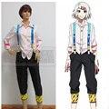 Токио Вурдалака Токио Гуру Косплей Женский Костюм Juuzou Suzuya полный набор костюмы (рубашки + брюки + брекеты + нога охранник) на складе