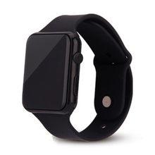 Nowe stylowe zegarki dla dzieci LED cyfrowy zegar silikonowy Watchband kwadratowy sport zegar elektroniczny Dropshipping