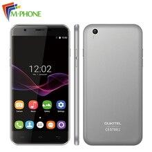 Оригинальный Oukitel U7 Max 5.5 дюймов мобильного телефона Android 6.0 MT6580A Quad Core 1 г Оперативная память 8 г Встроенная память 8MP двойной Камера 3 г WCDMA смартфон