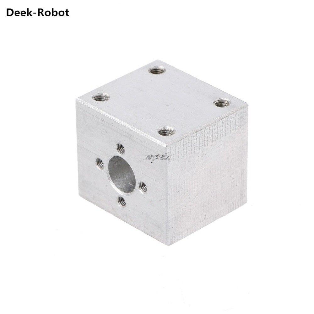Deek-Robot T8 Trapezoidal Lead Screw Nut Housing Bracket 3D Printer Parts For Reprap CNC Drop ship
