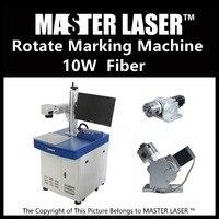 Lower Price 10W Fiber Portable 220V Input Raycus Laser With DELL DESKTOP Computer Cnc Kit Laser
