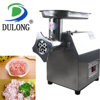 Food grade stainless steel electric meat grinder fish chicken fruit vegetable etc mincer machine good Sausage maker machine