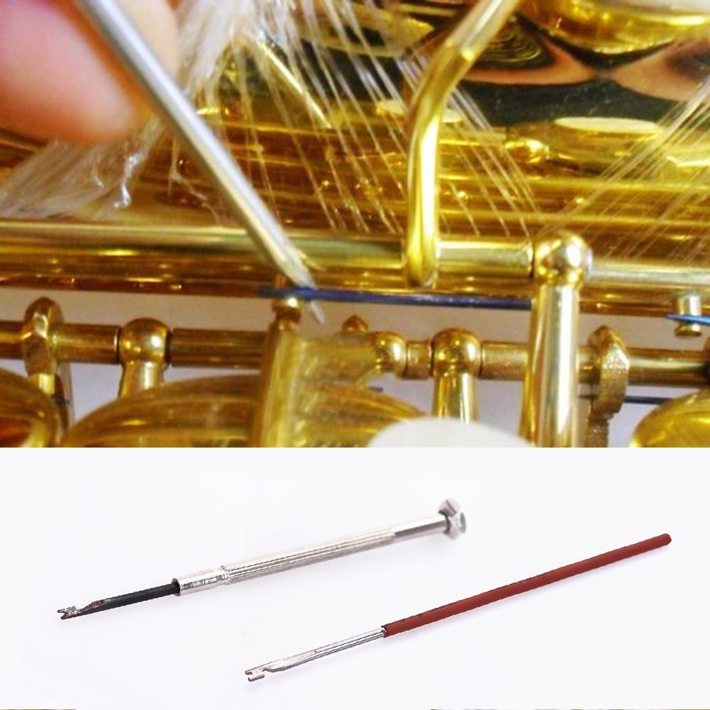 Woodwind Pipe Instrument Wind Instrument Spring Hook Repair Tool For Saxophone Clarinet Oboe Flute Piccolo And Bassoon