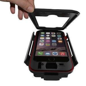 Image 3 - AntiShock Impermeabile Della Bicicletta Supporto Del Telefono Supporto Del Basamento Del Telefono per iPhoneX 8 7 5 s 6 s Moto GPS Holder Supporto telefono Moto