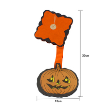 3 M Hanging Pumpkin Garland Paperboard Halloween Party Decoration