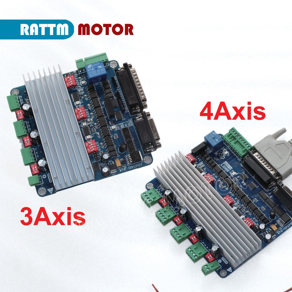 XYZ 3-AXIS CNC DRIVER BOARD 4 STEPPER MOTOR ROUTER,MILL
