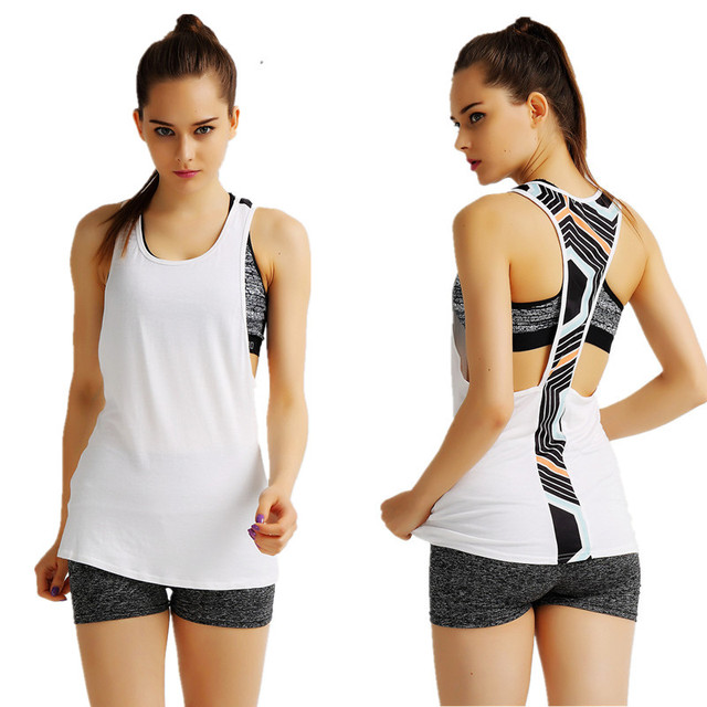 S-XL Women's Workout Tpos For Adventure Time Breathable Shirts Active Workout Vest Elastic Tpo Polyester t shirt women