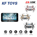 RC Quadcopter CX-10W CX10W Wifi FPV 0.3MP Camera LED  4CH CX10 Update Version Mini Drone BNF Helicopter Toy Gift
