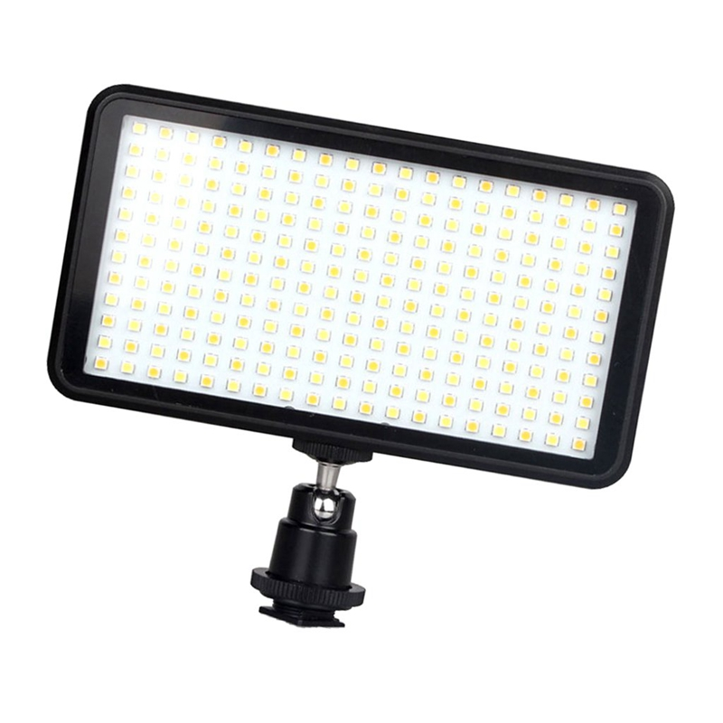 Image 2 - Led 228 Continuous On Camera Led Panel Light, Portable Dimmable Camera Camcorder Led Panel Video Lighting For Dslr Camera   Ca-in Photographic Lighting from Consumer Electronics