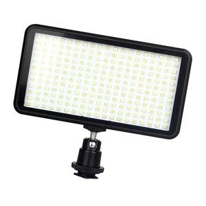 Image 2 - Led 228 مستمر على كاميرا Led مصباح لوح ، محمول عكس الضوء كاميرا كاميرا Led لوحة إضاءة الفيديو لكاميرا Dslr Ca