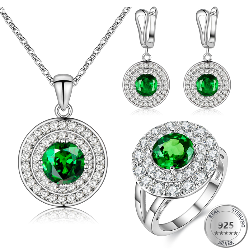 808 STORE 3PCS Luxury Women Wedding Round