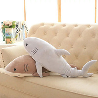 Plush Ocean Cartoon Shark Toys Soft Cute Pillow Super Soft Stuffed Animal Shark Dolls Best Gifts
