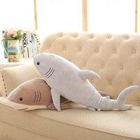 Ocean Rekin Kreskówka pluszowe Zabawki Miękkie Słodkie Poduszki Super Miękkie Nadziewane Shark zwierząt Lalek Najlepszy Przyjaciel Prezenty dla Dzieci Dziecko 21