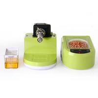Jamielin Household Full-Automatic Seed Oil Press Machine Peanut Oil Pressing Presser Machine Cold-pressed Hot-pressed