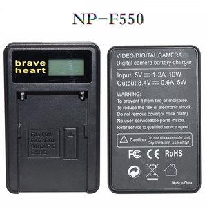Image 5 - 4 قطعة NP F550 NP F550 NPF550 قابلة للشحن ليثيوم أيون كاميرا بطارية لسوني NP F330 NP F530 NP F570 NP F730 NP F750 NP F770 NP F970