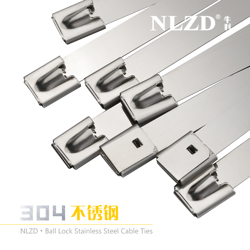 6 Strong Stainless Steel Marine Grade Metal Cable Ties Zip Tie Wraps Exhaust