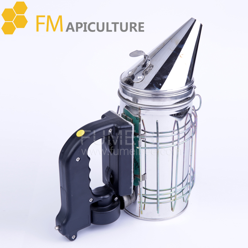 New Electric Bee Hive Smoker Stainless Steel Heat Shield Beekeeping Equipment Factory Price 2pcs new 41x6cm bee hive sliding mouse guard travel gate beekeeping equipment