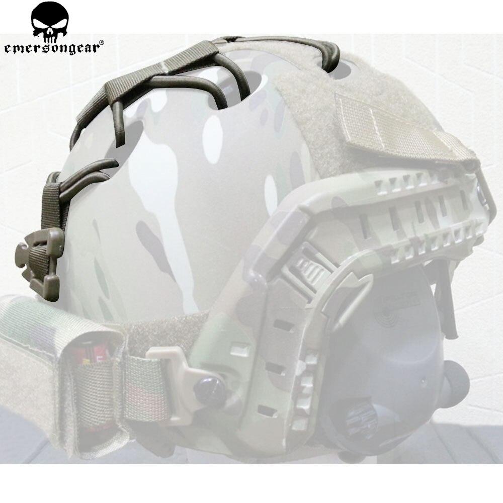 EMERSONGEAR FAST Helmet DIY Deck Set Helmet Kits Military Tactical Hemet Accessories Hunting Helmet DIY Deck Dark Earth EM8623