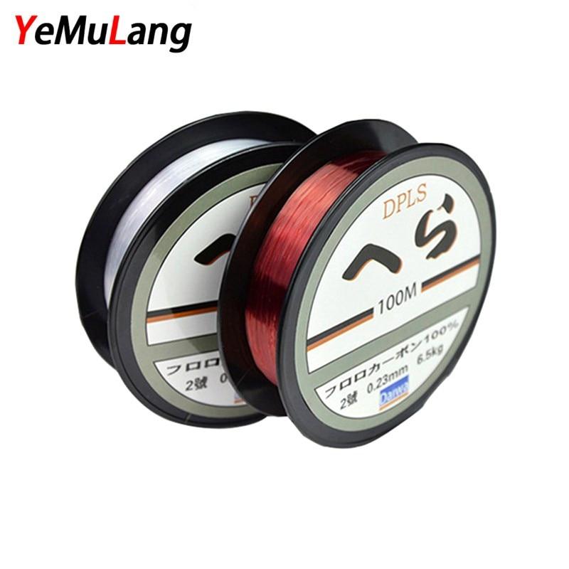 YeMuLang zīmols 1PCS 100M Daiwa Nylon Makšķerēšanas lidojums Line Monofilēts Fly Makšķerēšanas Līnijas Makšķerēšanai Fly-Fishing-Material