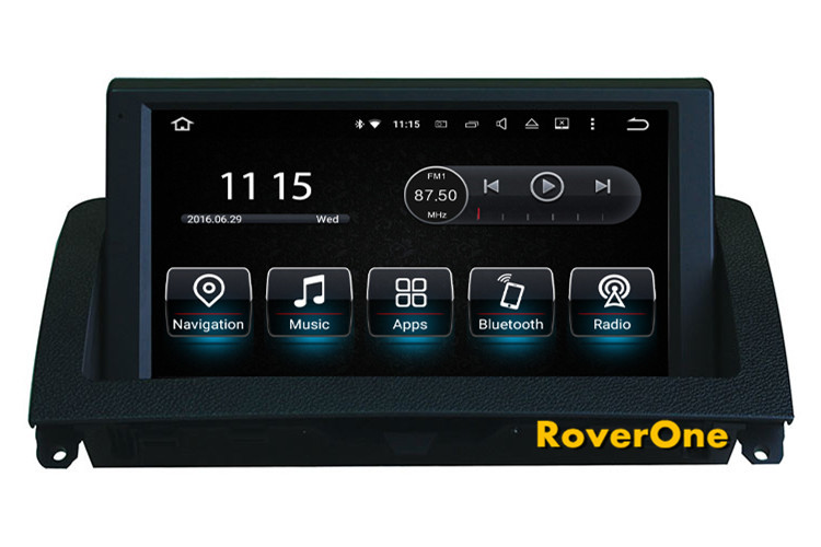 RoverOne <font><b>Android</b></font> 7.1 For <font><b>Mercedes</b></font> Benz C Class <font><b>W204</b></font> C180 C200 C220 C300 <font><b>Autoradio</b></font> Car Multimedia DVD GPS Navigation Radio Stereo image