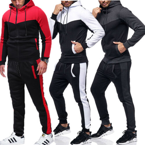 Hoodie Pants Sets Tracksuit Jogging Sweatsuit Activewear Mens Tracksuit Set Hoodies Joggers Set Fall Winter Gym Active Wear