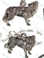 Dog jewelry Wholesale New design fantastic handmade vintage colour Border Collie necklace for brithday gift XK009