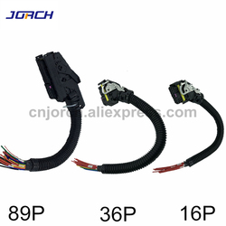 89Pin 36Pin 16Pin EDC7 Common Rail Connettore PC di Bordo ECU Presa Automotive Iniettore Modulo Plug Con Cablaggio Per Boschs