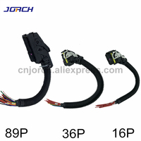 89Pin 36Pin 16Pin EDC7 Common Rail Connector PC Board ECU Socket Automotive Injector Module Plug With Wire Harness For Boschs