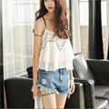2016 Summer Casual Sexy Crop Top Cropped Vintage Tank Tops Sleeveless Vest Halter Top Feminina Cheap Clothing China Elegant