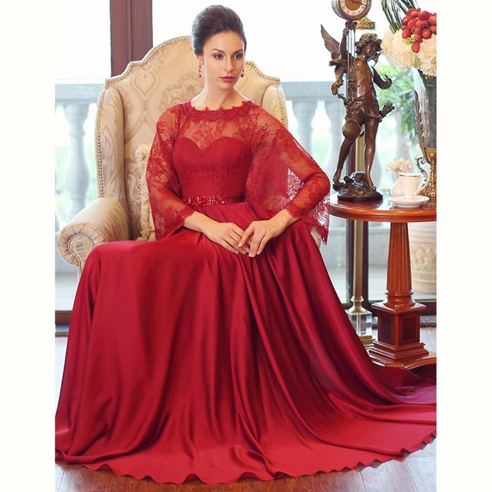 Popular Beaded Long Evening Wear Dresses for Women-Buy Cheap ...