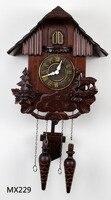 TUDA 35*27*19cm Retro wooden wall clock vintage house wall clocks timekeeping wall clock large wall clock free shipping