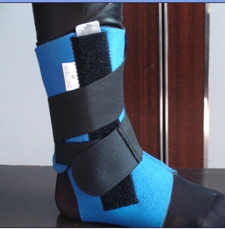 Emergency safeguard Ankle support flanchard medical nursing ankle fitted joint brace