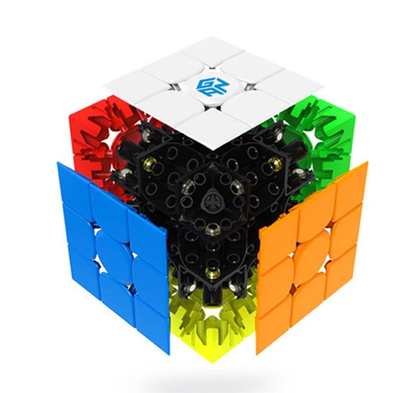 GAN 354 M 3x3 Cube de vitesse magnétique 3x3x3 Cube magique Gan 3*3 aimant professionnel Cubo Magico Puzzle jouets pour enfants - 3