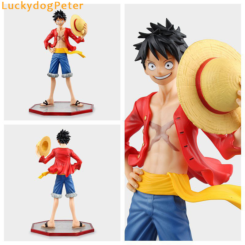 Monkey D Luffy Doll Pvc Acgn Figure Garage Kit Toy Brinquedos Anime 12cm For Sale Toys & Hobbies One Piece Luffy Action Figure One Piece Film Gold Ver